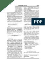 """RAD Nº 033-2008-APNDIR, del 09 de setiembre del 2008, """"Modifican artículo e incluyen formatos de reporte de accidentes a la norma sobre seguridad portuaria"""