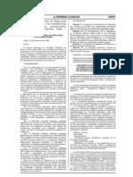 """RAD Nº 051-2008-APNDIR, del 23 de diciembre del 2008, """"Aprueban Lineamientos de Seguridad que deberán cumplir las instalaciones portuarias para la manipulación de m"""