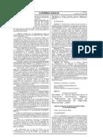 RADº 026-2008-APN-DIR, del 29 de mayo de 2008. Norma Nacional para la Inscripción, Certificación, Registro y Renovación del Certificado de las OSR.