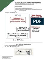 13) ATUALIZADO-RECEITA DE TRICÔ Á MÁQUINA-MEIA SOQUETE TUBULAR-SEM COSTURA - COM TRICÔ CIRCULAR OU TUBULAR - REVISADO