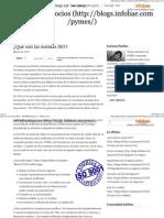 ¿Qué son las normas ISO_ ~ #PYMESyNegocios ~ Infobae