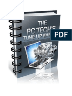 The PC Technicians Tune Up Manual