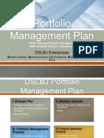 PM587 Team E DSLBJ Project Plan Presentation FINAL[1]