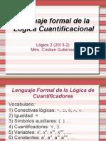 3. Lenguaje formal l€ógica cuantificacional