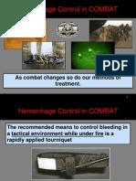Hemorrhage Control in COMBAT