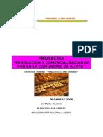 PROYECTO Panaderia Llano Dorado.
