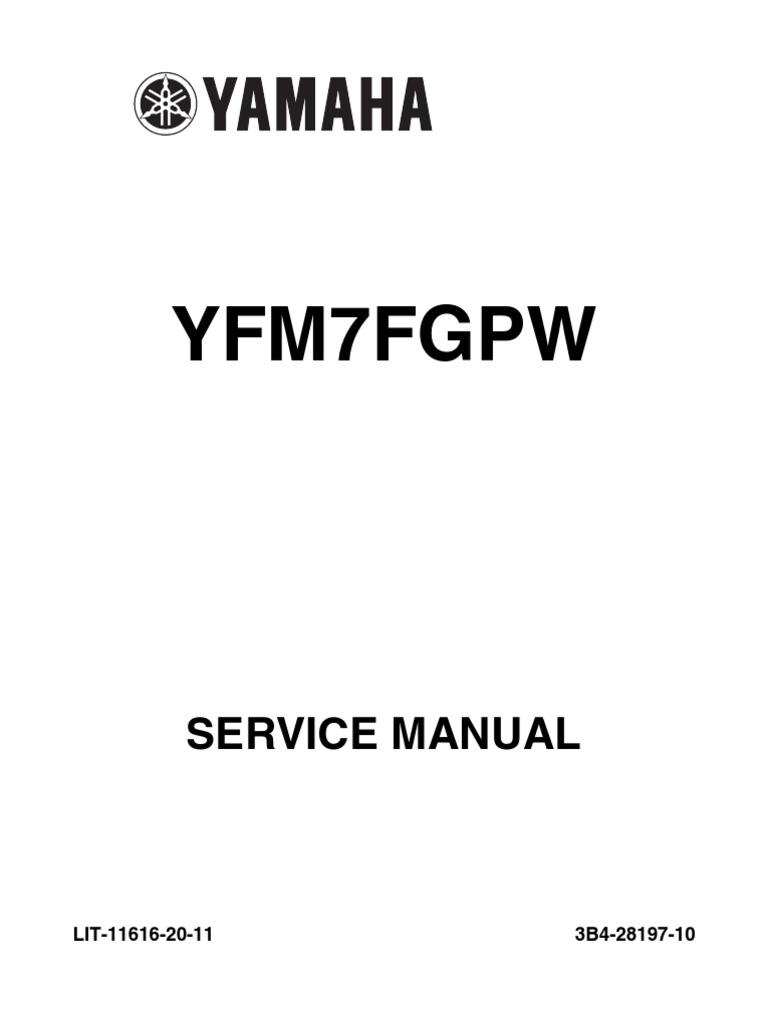 07 08 Grizzly 700 Service Manual Fuel Injection Throttle Yamaha Ignition Wiring