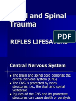 RLS Head and Spinal Trauma