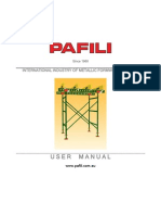 PAFILI T1 Shoring System