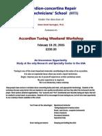 Tuning Workshop Details (2!1!05) PDF