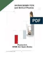 Kemahiran subjek Fizik