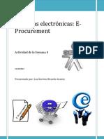Compras electrónicas