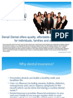 Why Denali Dental and Vision Powerpoint