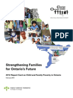 2013 Report Card on Child Poverty Ontario