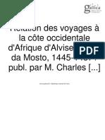 Cadamosto, Voyages (1456)