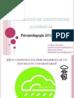 Desarrollo de competencias académicas
