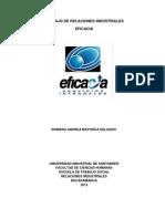 Trabajo de Relaciones Industriales Eficacia Final