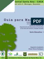 Guía Educativa del CASA alineada a los Estandares del Departamento de Educacion de PR