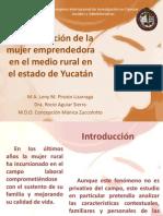Mujer Yucateca