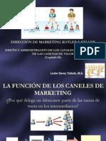 113  LA FUNCIÓN DE LOS CANELES DE MARKETING