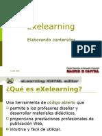 Introducción al eXelearning 1