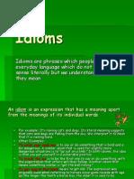 Idioms prezentacija