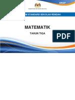 Dokumen Standard Matematik SK Tahun 3
