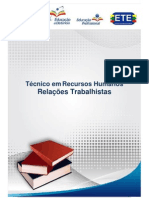 Caderno - Relações Trabalhistas - EAD