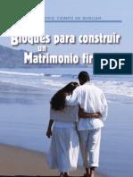 Bloques Para Construir Un Matrimonio Firme_martin r. de Haan II