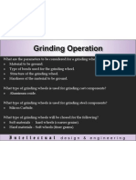 Grinding Operation