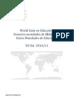 Datos Mundiales de Educación
