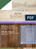 Sundance PMC March Newsletter