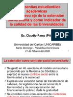 1-2 Las Pasantias Como Nuevo Eje de Extension Universitaria