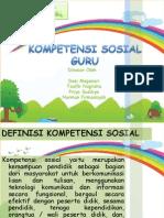 Kompetensi Sosial Guru Ppt
