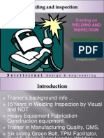 Intellectual Welding Training