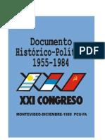 Documento histórico político 1955 1984