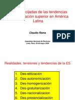 1-6 La Encrucijada de La Tendencias de La Educacion Sup