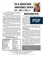 Veterans & Military Families Monthly News-April 2013
