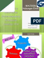 Faktor-Faktor Menyulitkan Proses Perpaduan Di Malaysia Sebelum 1970