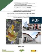 Propuesta de Red de Municipios Con Centros Historicos de Honduras