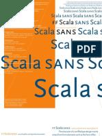 Leaflet ScalaSans