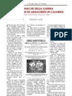 Cronache Della Guerra Fra Angioini e Aragonesi in Calabria Anni 1462-64