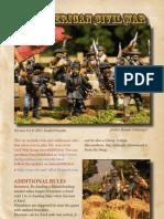 Americn Civil War Skirmish rules
