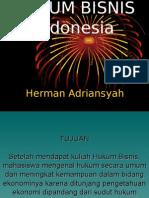 Hukum Bisnis Indonesia