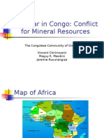 The War in Congo by Vincent Chirimwami
