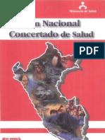 Plan Nacional Concertado de Salud