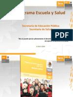 Escuela y Salud