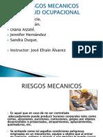 RIESGOS MECANICOS (1) Salud Ocupacional