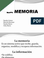 La Memoria Diapositivas