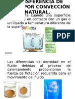 TRANSFERENCIA DE CALOR POR CONVECCIÓN NATURAL